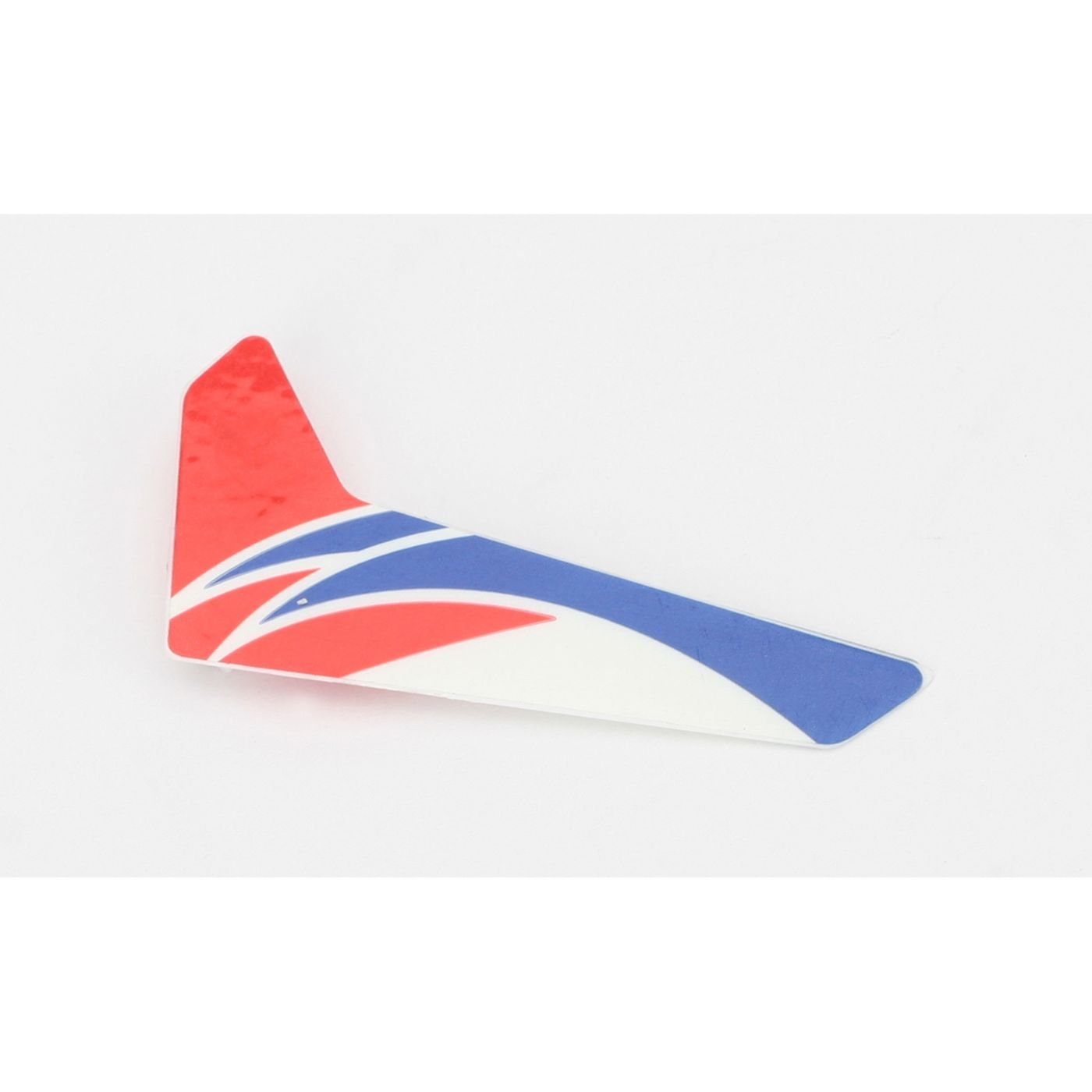 mCP X Blade Red Vertical Fin with Decal BLH3520R