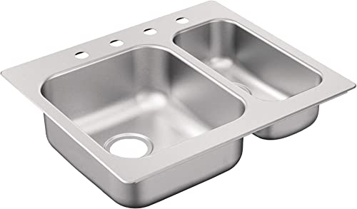 Moen G202714BQ 2000 Series Sink, Brushed Satin Stainless