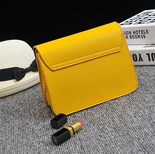 Ladies Fashion 17 Little 8 Tote Cm Bag Shoulder Party Madam 13 Red Chain Handbag Pu Yanx p5WA8q5