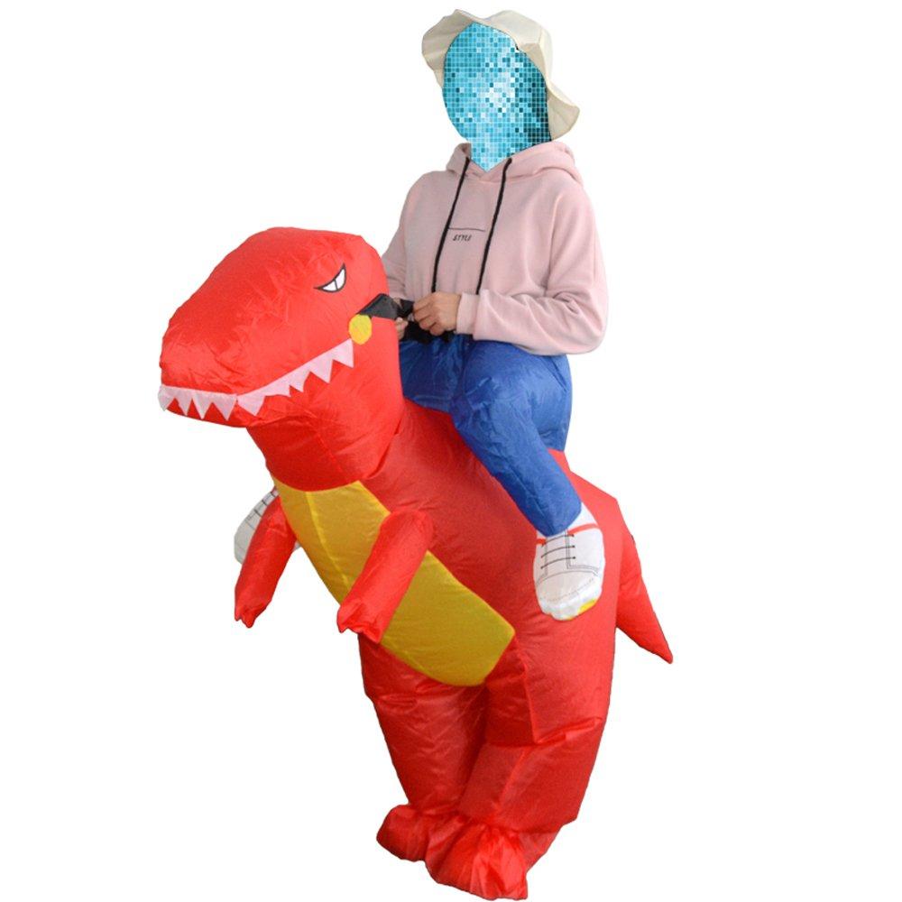 JASHKE Disfraz Hinchable de Dinosaurio para Niños, Disfraz de ...