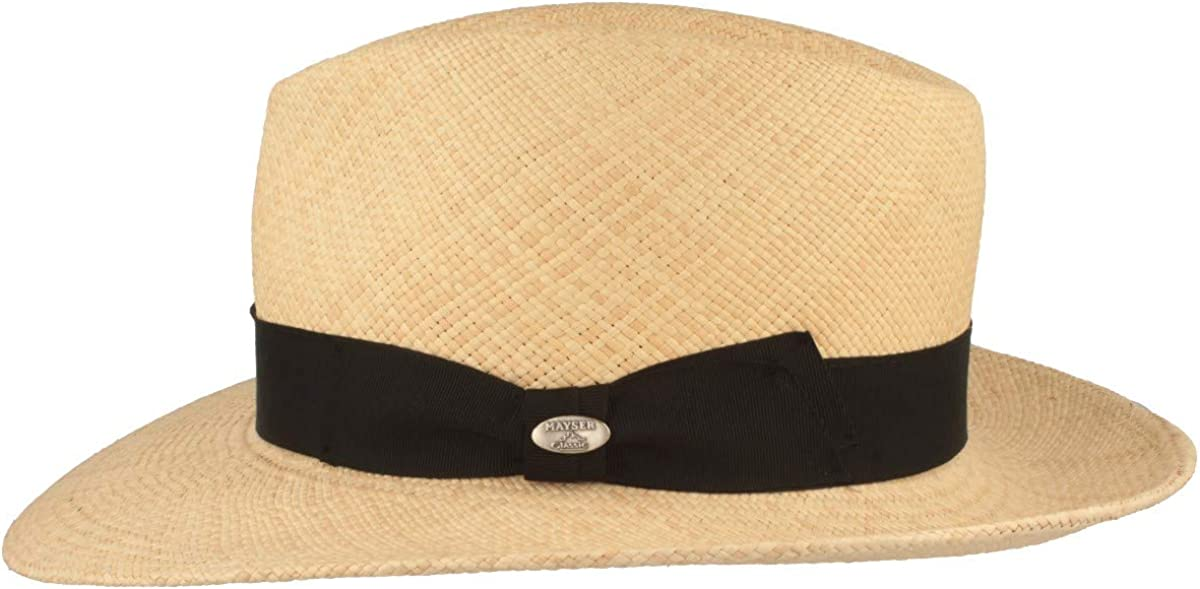 Straw Hat Traditional Hand Woven in Ecuador Soft Sweatband and Crack Protection. Original Panama Hat UV 40 Sun Protection Summer Hut Water Repellant