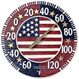 Stars and Stripes Round Thermometer