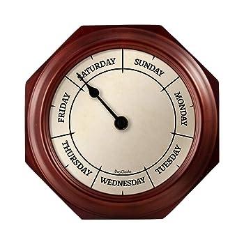 DayClocks Classic Modern Wall Clock