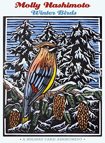 Print A Christmas Card - Molly Hashimoto: Winter Birds Holiday Card Assortment