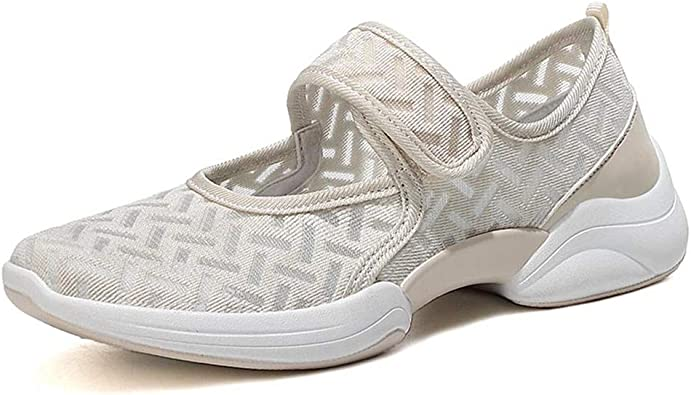 LAZZY Womens Velcro Fashion Sneakers
