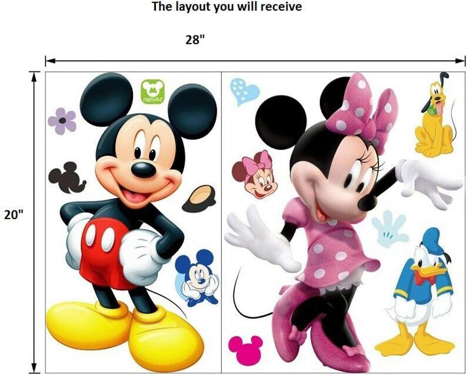 Q116 Minons Moto Cool Kids lit Trou Applique Murale 3D Art Stickers Vinyl