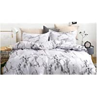 King Size, Marble Design, Bedding Set of 6 Pieces