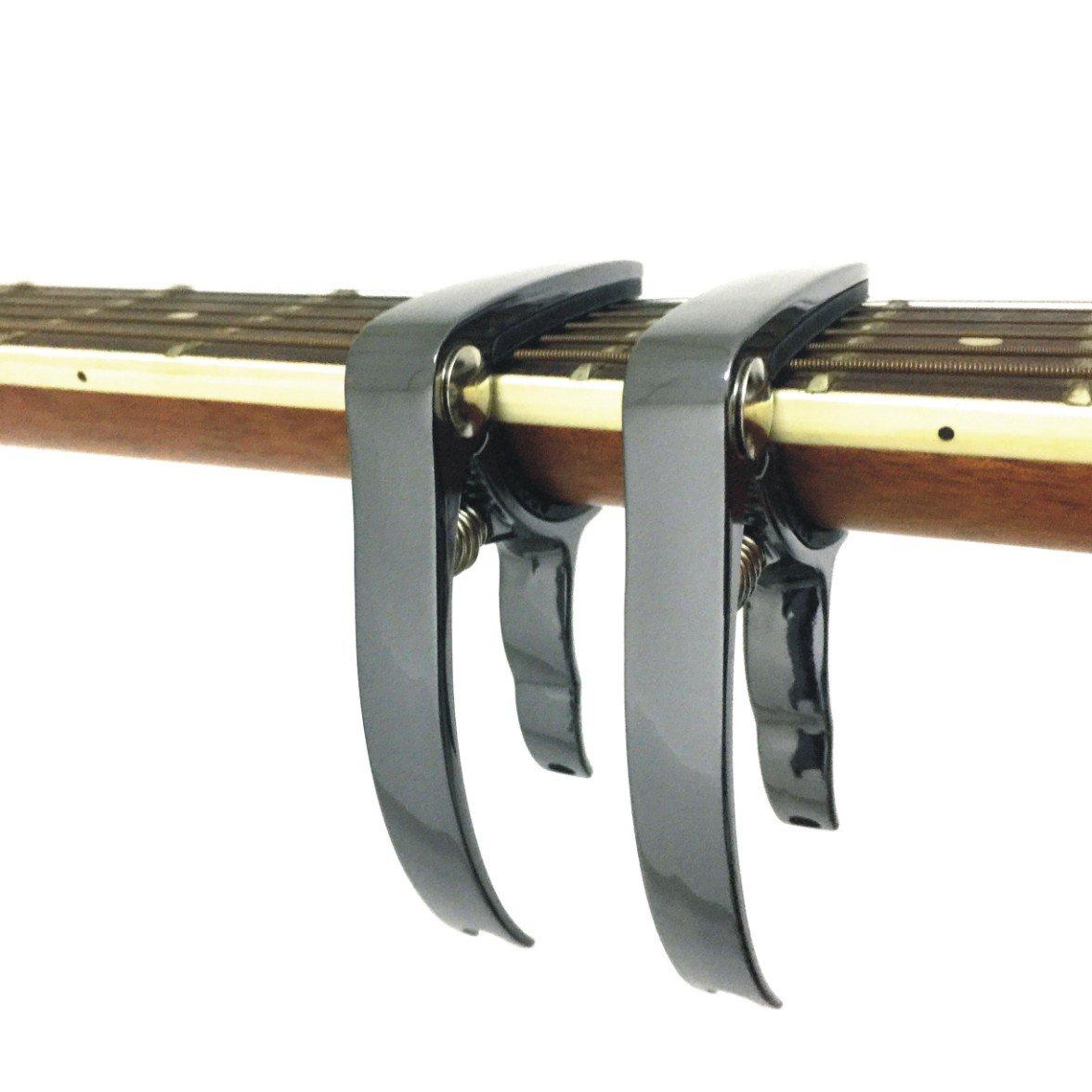 Happyard Guitar Capo String Pin Puller(2PCS Bright Black)