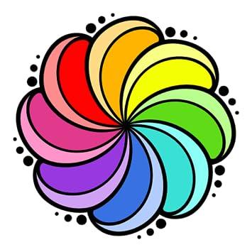 ColorFlow Coloring Book For Adults Mandala