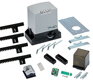 Faac 740 Telecommande Kit Delta 2 Portail Coulissant Portee 500 Kg