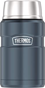 Thermos Stainless King 24 Ounce Food Jar, Slate