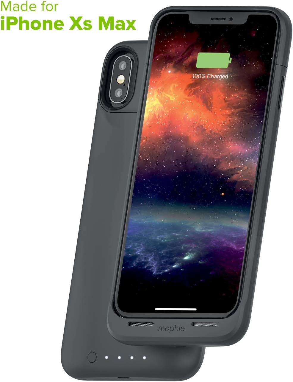 mophie Juice Pack Air – MFI Certificado – Carga inalámbrica – Funda Protectora de batería para Apple iPhone XS MAX: Amazon.es: Electrónica