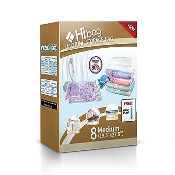 Amazon.com: Hibag - Bolsas de almacenamiento al vacío: Home ...