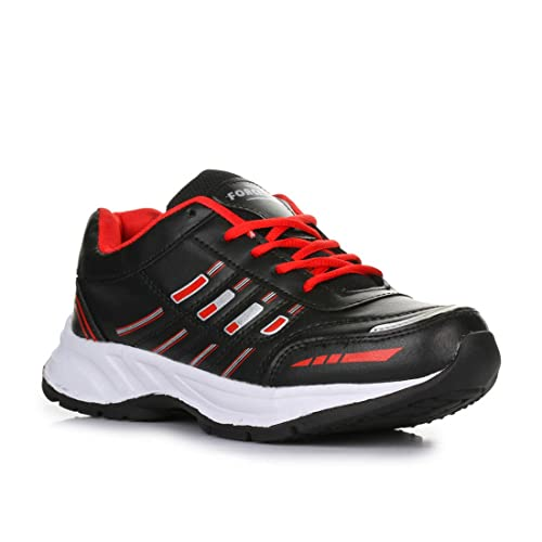 293bf7e6e4d Liberty Force 10 Black Mens Non-Leather Sports Shoes  Buy Online at Low  Prices in India - Amazon.in