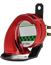 KKmoon 130DB Altavoz Sonido de Bocina de Aire Alarma Advertencia Fuerte Electrónico Cuerno de Caracol Ruidoso