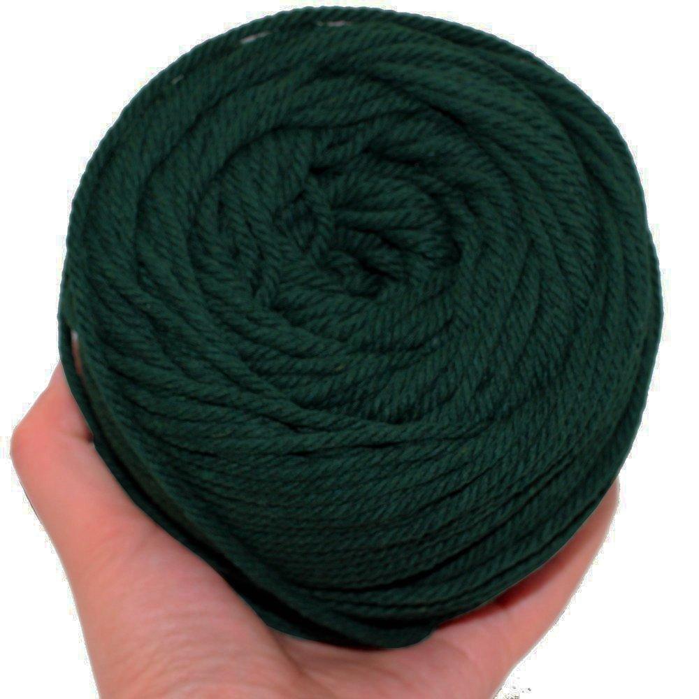 ailinda 328 pies 3 capas Natural algodón macramé cuerda cable trenzado para  tejer para hacer planta de suministros de macramé para colgar en la pared  percha ... 6bcedb2df25
