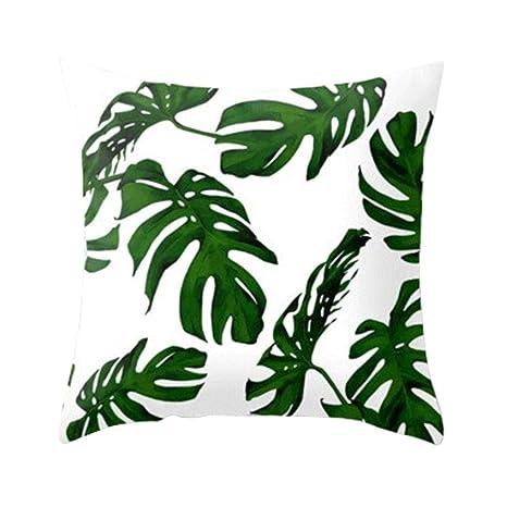 Funda de Almohada para Plantas Tropicales/Funda de cojín ...