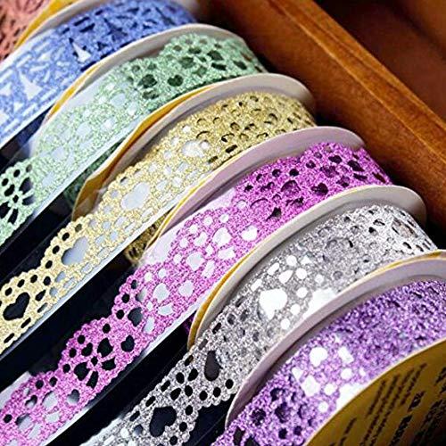 Washi TapeLace Pattern Glitter