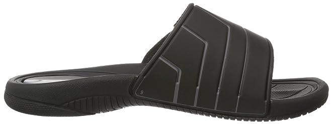 Rider Speed II - zuecos de goma hombre, color negro, talla 41