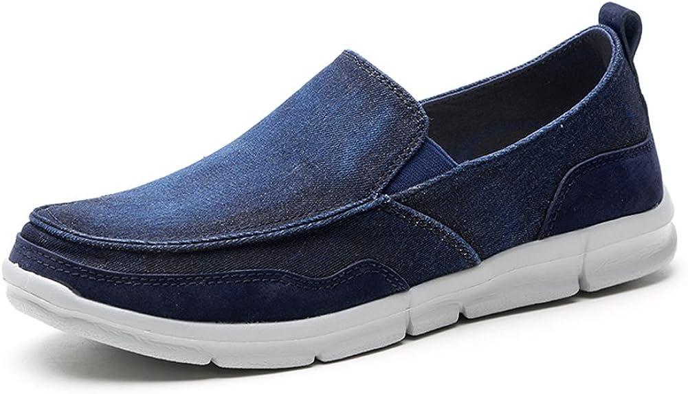 TIOSEBON HK8705 - Mocasines para Hombre M, Color Azul, Talla 41