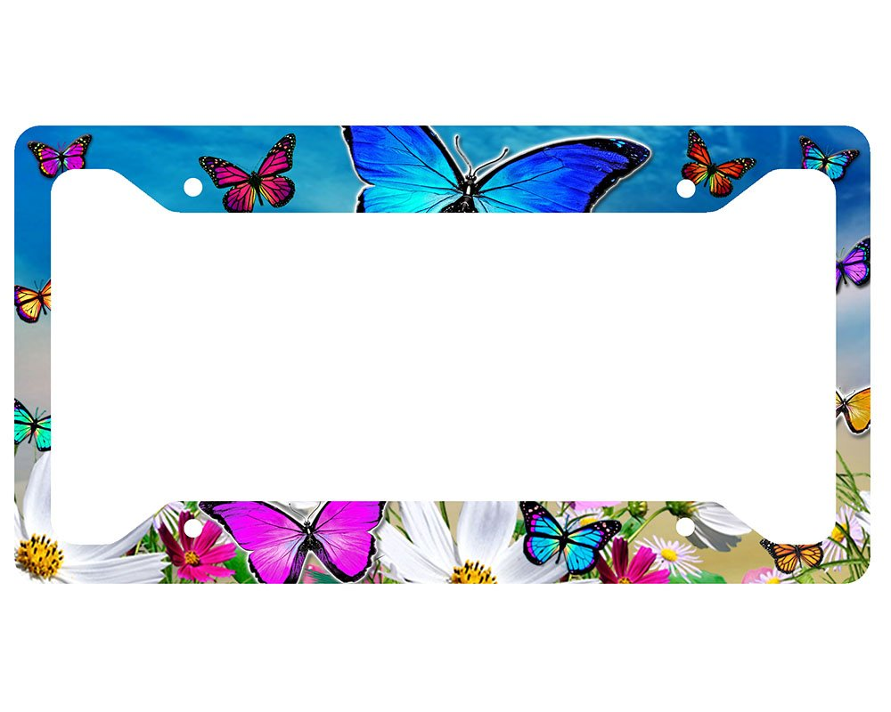 Amazon.com: Butterfly License Plate Frame: Automotive