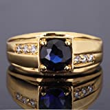 Huanhuan Promise Ring 18k Yellow Gold Plated