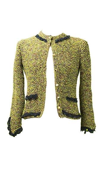 buy popular 89604 27932 Giacca modello Chanel in cashemere': Amazon.it: Abbigliamento