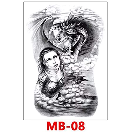 adgkitb MB-008 - Adhesivo Decorativo para la Espalda (34 x 48 cm ...