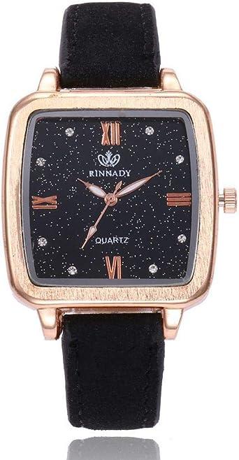 Reloj de Mujer Romana Romana Plaza Cuadrada Reloj de Mujer Reloj ...