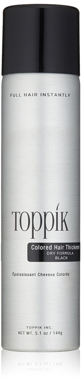 Toppik Colored Hair Thickener Black, 5.1 Ounces TOWIR THTB12