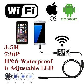 Sistema de cámara de inspección digital WiFi para iPhone, iOS ...