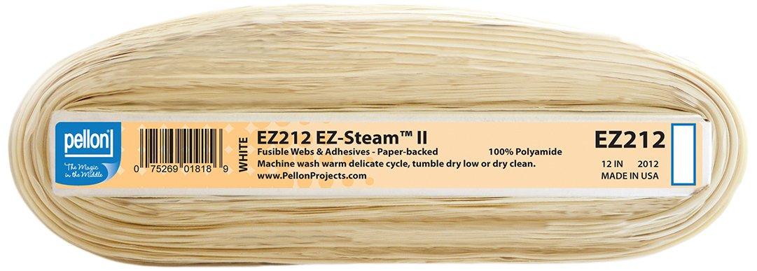 Pellon EZ Steam II fusible, 12 x 25-Yards, White by Pellon