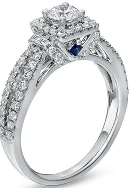 Amazoncom Vera Wang Love Collection Engagement Ring Everything Else