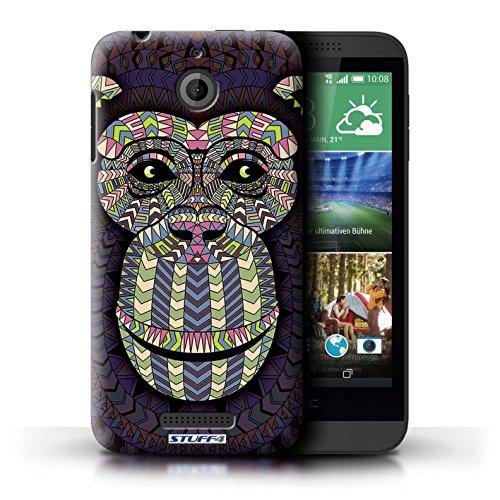 Coque de Stuff4 / Coque pour HTC Desire 510 / Singe-Couleur Design / Motif Animaux Aztec Collection