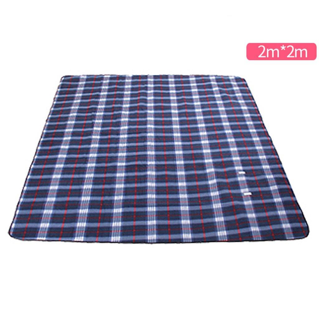 ERRU-Feuchtraum-Pad im Freien kampierende feuchtigkeitsfeste Matte Portable Schlafende faltbare Auflage Waterproof Feuchtigkeit