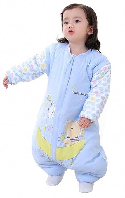 Saco de dormir para bebé invierno manga algodón larga – Garcon – niña Happy Dream pijama