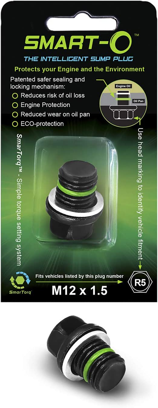 Smart-O Reusable Oil Drain Sump Plug Honda CR 500 R 1984 to 2001