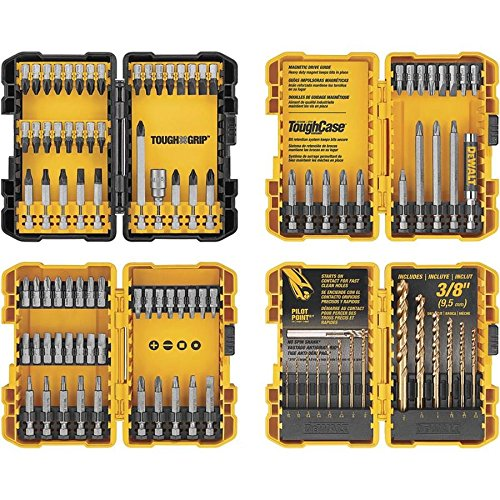 DEWALT 100-piece Combination Impact Screwdriver Bit and Drill Set (Dewalt Set Bit Impact)