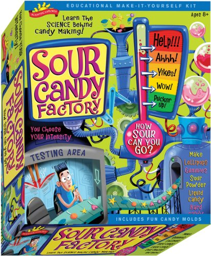 - Scientific Explorers Sour Candy Factory Kit , Kid ,Toy , Hobbie , Nice Gift