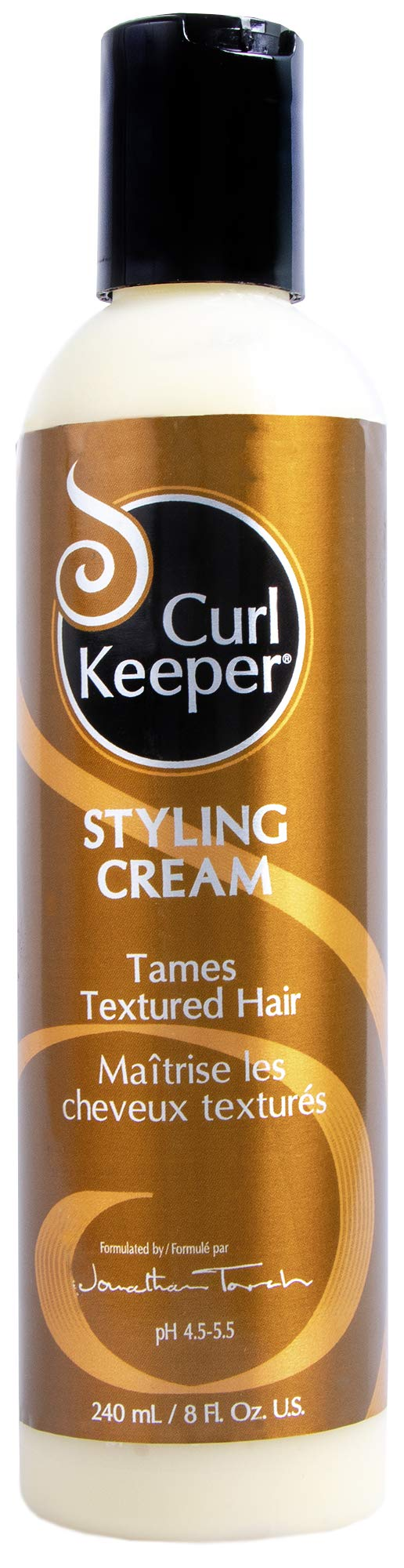 Curly Hair Solutions - Curl Keeper Styling Cream, 8.0 Ounce / 240 Milliliter