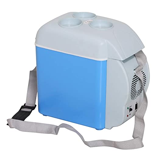 7.5 litros Mini Refrigerador del Coche Nevera Eléctrica Portátil ...