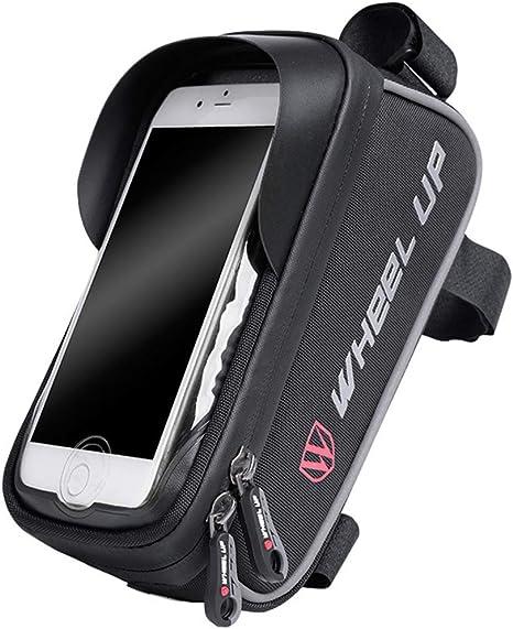 QKa Cuadro De La Bicicleta Bolsa con La Huella Digital De ...
