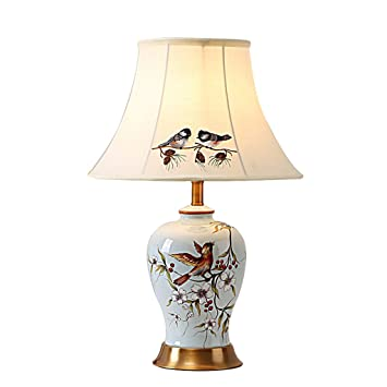 Baoduohui ceramic table lamp new chinese ceramic lamp american baoduohui ceramic table lamp new chinese ceramic lamp american pastoral living room bedroom bedside aloadofball Images