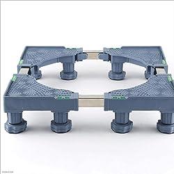 Rullo Universale per Lavatrice Impermeabile Staffa Base Treppiede Mobile Universale Staffa di Fissaggio Automatico Fisso
