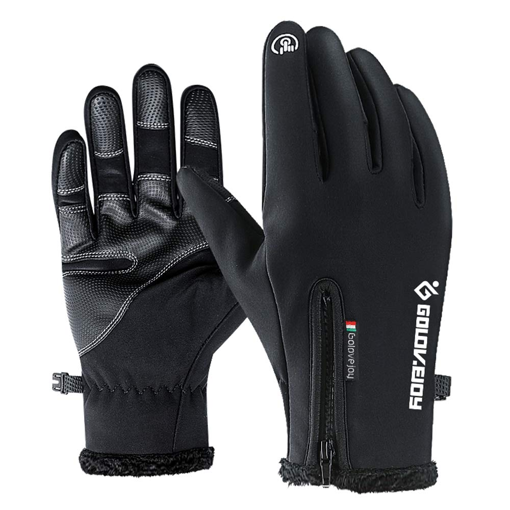 5d2de1eee IUBOST Waterproof Winter Gloves for Men and Women Fly Fishing Ice Fishing  Trekking Hiking Climbing Skiing Cycling Neoprene Fishing Boating Gloves  Plus ...