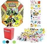 Pokemon Tin Island Guardian Tapu Koko GX with Deck Box & 6 Pokemon Figures