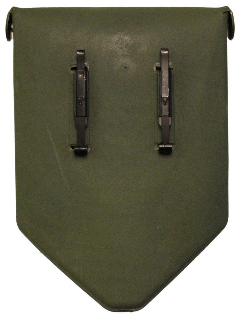 Inet-Trades GmbH BW funda pala plegable con funda BW en color verde oliva, ejército alemán/USA, pala de metal aluminio ideal para exterior, camping, superviviencia y caza. c73e86