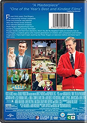 movies, tv, studio specials, universal studios home entertainment,  all universal studios titles 1 image Won't You Be My Neighbor in USA