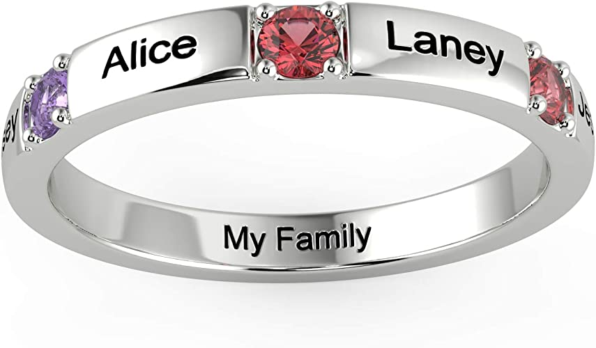 Minimalist Love Ring Dainty Ring Adjustable Ring Silver Ring Wedding Band Anniversary Gift Mom Gift Love Ring Engraved Ring