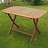 International Caravan TT-RE-053-IC Furniture Piece Royal Tahiti Rectangular Folding Table